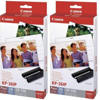 Canon KP-36IP (2x) 7737A001-1 Fotoskrivare (bläck/papper) 1 set