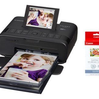 Canon Selphy Cp1300 Svart + Bläck + Papper