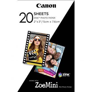 Canon ZINK™ Photo Paper ZP-2030 3214C002 Fotoskrivare fotopapper 20 ark