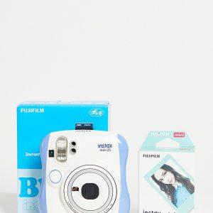 Fujifilm - Blå exklusiv kamera Instax Mini 25 med film-Ingen färg