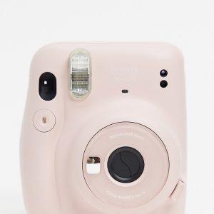 Fujifilm - Instax Mini 11 - Puderrosa direktbildskamera-Ingen färg