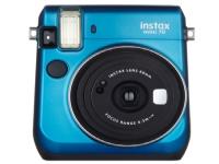 Fujifilm Instax Mini 70 - Instant camera - objektiv: 60 mm blå