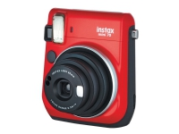 Fujifilm Instax Mini 70 - Instant camera - objektiv: 60 mm röd