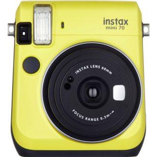 Fujifilm Instax Mini 70 Yellow EX-D Direktfilmskamera Gul