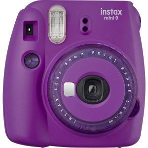 Fujifilm Instax Mini 9 Direktfilmskamera Lila