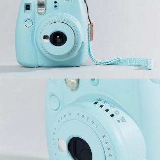 Fujifilm - Instax Mini 9 Icy Blue - Direktbildskamera-Flerfärgad
