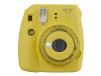 Fujifilm Instax Mini 9 - Instant camera - objektiv: 60 mm genomskinligt gul