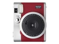 Fujifilm Instax Mini 90 NEO CLASSIC - Instant camera - objektiv: 60 mm röd
