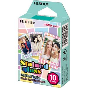 Fujifilm Instax Mini Film Stained Glass Frame 10pcs