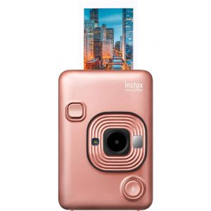 Fujifilm Instax Mini LiPlay Direktfilmskamera Blush Gold