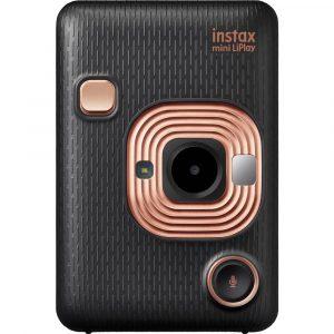 Fujifilm Instax Mini LiPlay Direktfilmskamera Svart