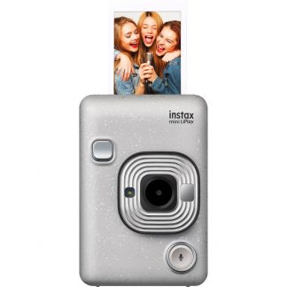 Fujifilm Instax Mini LiPlay Direktfilmskamera Vit