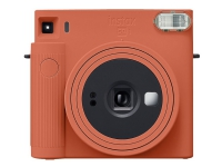 Fujifilm Instax SQUARE SQ1 - Instant camera - objektiv: 65.75 mm - instax SQUARE terrakotta-orange