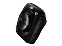 Fujifilm Instax SQUARE SQ20 - Digitalkamera - kompakt med PhotoPrinter - 3.7 MP / 15 fps - svart