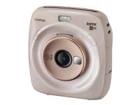Fujifilm Instax SQUARE SQ20 - Digitalkamera - kompakt med omedelbar fotoskrivare - 3.7 MP / 15 fps - beige
