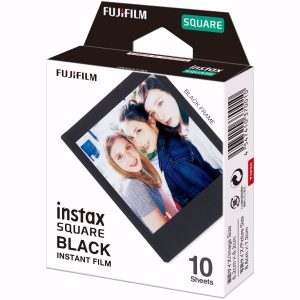 Fujifilm Instax Square Film Black Frame 10pcs