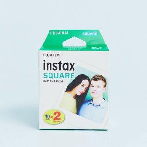 Fujifilm - Instax Square Film - Film i 10 x 2-pack-Flerfärgad