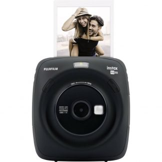 Fujifilm Instax Square SQ 20 Direktfilmskamera Svart