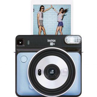 Fujifilm Instax Square SQ6 Direktfilmskamera Aquablå