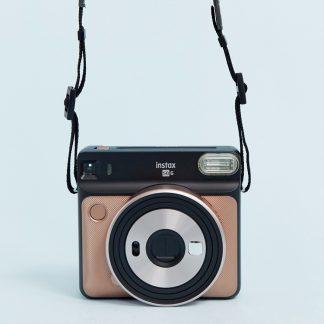 Fujifilm Instax Square SQ6 instant camera i guldfärg-Flerfärgad