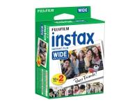Fujifilm Instax Wide Film 10x2-Packs (20 stk.)