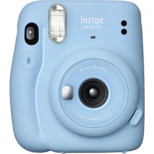 Fujifilm instax Mini 11 Direktfilmskamera Himmelsblå
