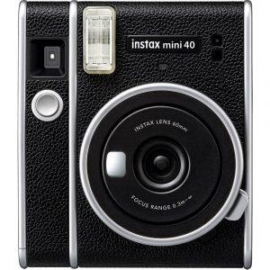 Fujifilm instax mini 40 Direktfilmskamera Svart