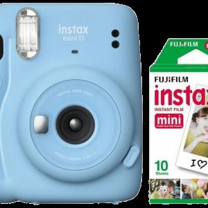 INSTAX Mini 11 Sky Blue + Mini Film 10-pack - Bundle