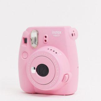 Instax - Mini 9 - Puderrosa kamera-Ingen färg