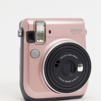 Instax x ASOS - Exklusiv roséguldfärgad mini 70 kamera-Ingen färg