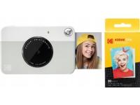 Kodak Digital Camera Kodak Printomatic 5MP Camera + Refill Paper 20 pcs - Gray