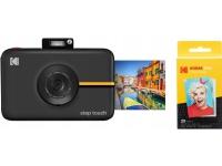 Kodak Digital Camera Kodak Step Touch Camera 13mp 1080p + Cartridge 20 Pcs - Black