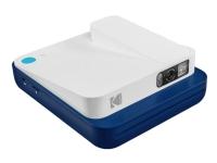 Kodak Smile Classic - Digitalkamera - kompakt med PhotoPrinter / 16.0 MP (interpolerat) - Bluetooth - blå