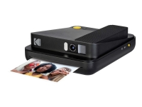 Kodak Smile Classic - Digitalkamera - kompakt med PhotoPrinter / 16.0 MP (interpolerat) - Bluetooth - svart