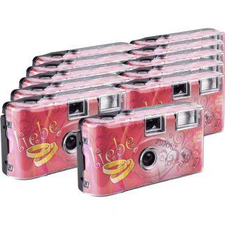 Love Hearts Engångskamera 11 st med inbyggd blixt