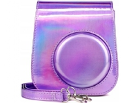 LoveInstant Bag Carrying Case Pouch Case For Fujifilm Instax Mini 11 - Purple/Flash