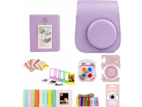 LoveInstant case 8in1 set Case Frames Album Fuji Instax Mini 11 - Violet