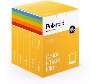 Polaroid 5-pack Color film for i-Type