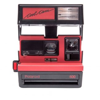 Polaroid 600 Camera, Cool Cam Red