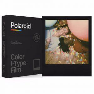 Polaroid - Color Film I-Type Black Frame Edition
