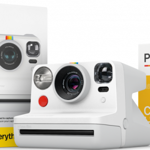 Polaroid - Now E-Box & a Double Pack Film