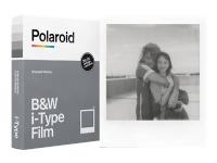 Polaroid i-Type B&W Film - Brilliant - vit - 88 x 107 mm 8 ark fotopapper