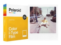 Polaroid i-Type Color Film - Brilliant - vit - 88 x 107 mm 8 ark fotopapper