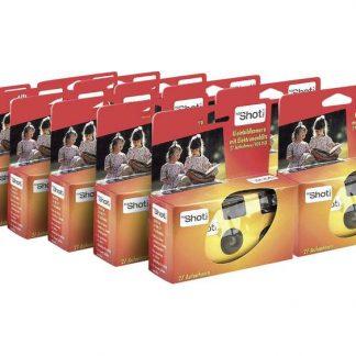 Topshot 400 Flash Engångskamera 12 st med inbyggd blixt
