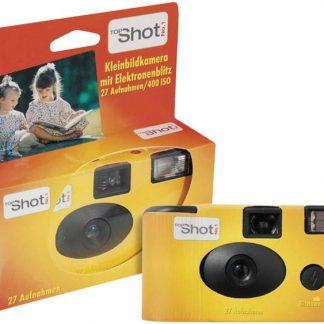 Topshot Flash Engångskamera 1 st med inbyggd blixt