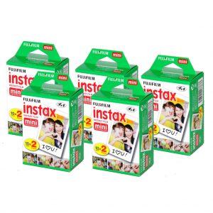 eStore FUJIFILM - 100 Pack Instax Mini 8 Camera Film (BIG PACK)