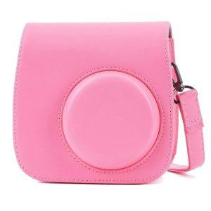 eStore Kameraväska till Fujifilm Instax Mini 9/8/8+, Flamingo Pink