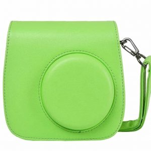 eStore Kameraväska till Fujifilm Instax Mini 9/8/8+, Lime Green
