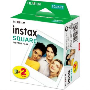 eStore SQ10 Fujifilm Instax Film för Instax Square Camera - 20 Pack