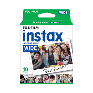 instax mini Film Wide 10-pack
